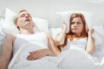 Snoring is a common symptom of Obstructive Sleep Apnea.